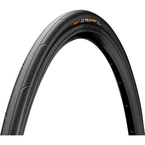 Continental buitenband Ultra Sport 700 x 25 zwart vouw