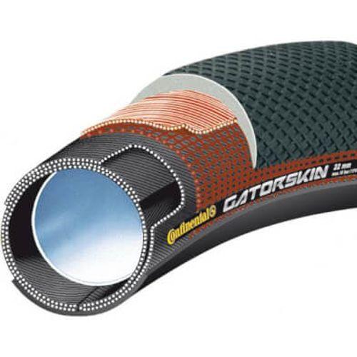 Continental buitenband Sprinter Gatorskin Tube 700 x 22 zwart
