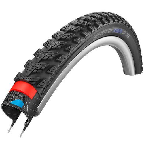 Schwalbe buitenband Marathon GT 365 28 x 1.40 zwart refl