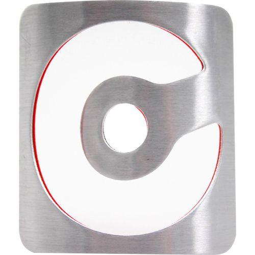 Cortina balhoofdplaatje 51 soft aluminium