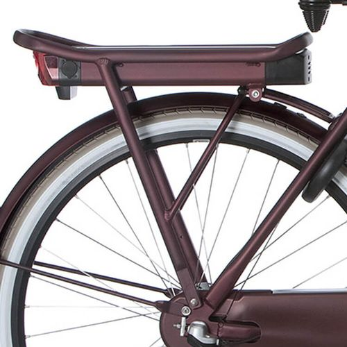 Cortina achterdrager E-U4 teak brown matt