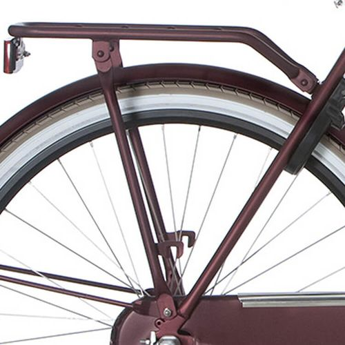 Cortina achterdrager U4 57 teak brown matt