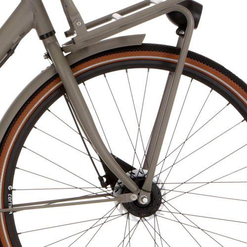 Cortina voordrager basis deel 28 quarz grey matt