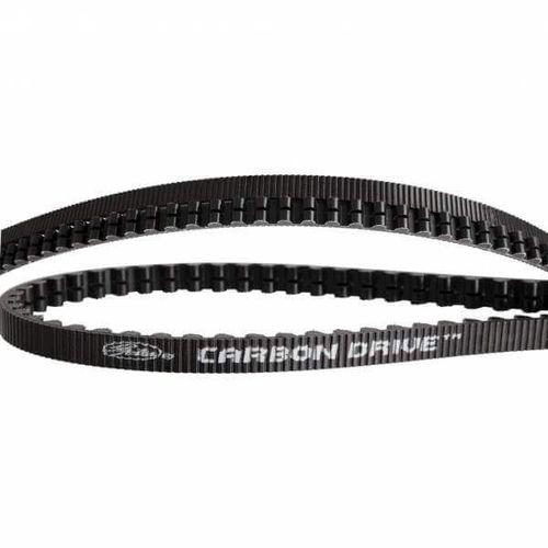 Gates CDX belt Carbon Drive 125 tands zwart
