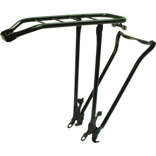 Steco tourdrager 28 zwart m/stand