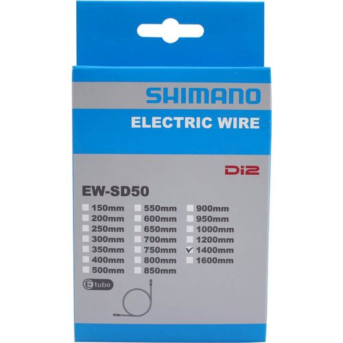 Elektrische Kabel 1400mm Zwart EW-SD50 E-Tube Voor