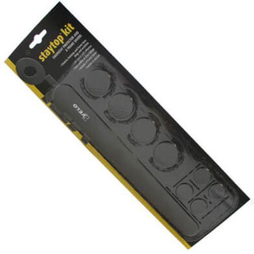 Velo framebeschermer kit 8 delig carbon design