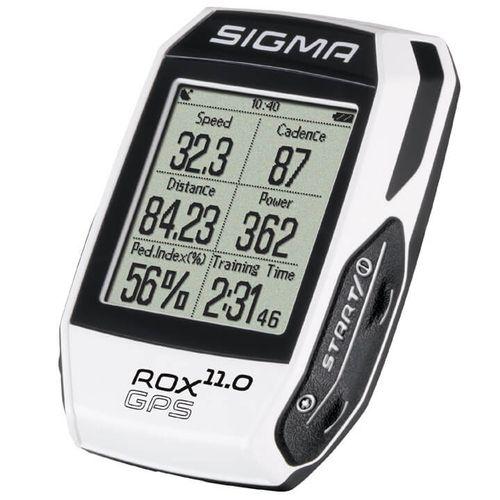 Sigma computer rox gps 11.0 wit set strava / inclu