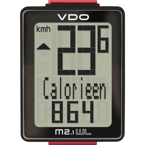 VDO fietscomputer M2.1 WL draadloos