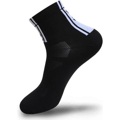 FLR Elite Sok Zwart 9 cm laag 43 - 47