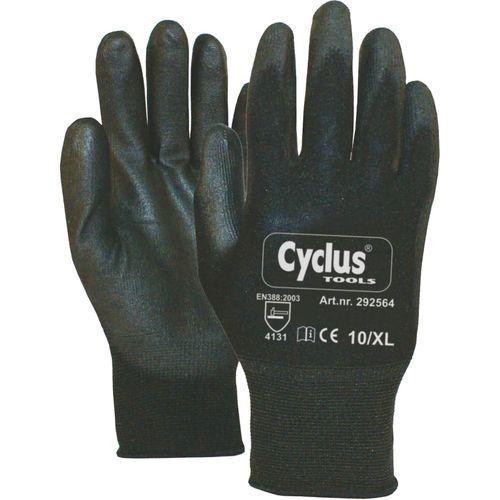 Cyclus handschoenen werkplaats maat xl / 10 zwarte