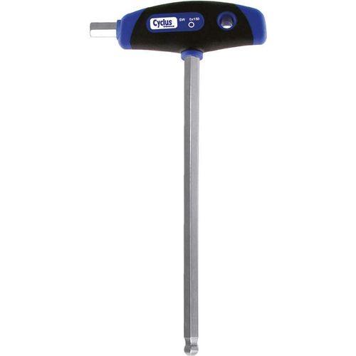 Cyclus inbussleutel kogelkop 3.0mm t-greep, 100mm