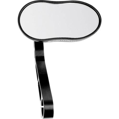 Ergotec spiegel M-88 aluminium E-nummer zwart