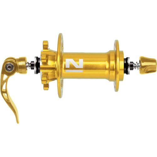 Novatec naaf Superlight MTB Disc 4:1 Goud geanod