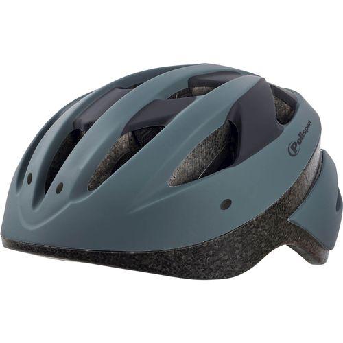 Polisport helm Sport ride M donker grijs/zwart