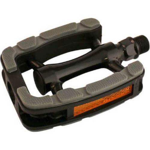 Union pedalen 823 aluminium zwart