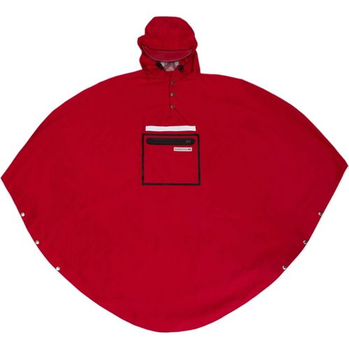 Peoples Poncho red volw