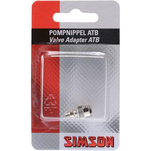Simson verloopnippelset atb (auto) naar dunlop