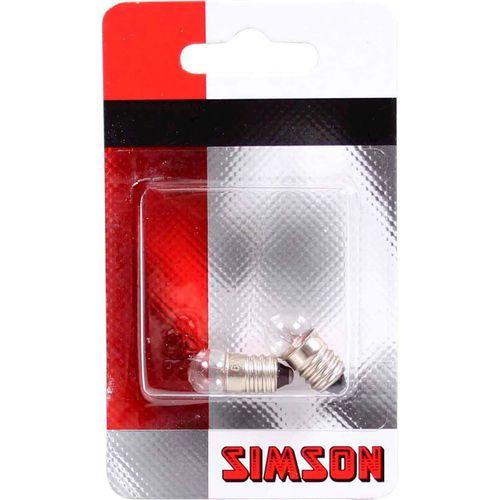 Simson lampje achterlicht 6 volt / 0,6 watt (2)