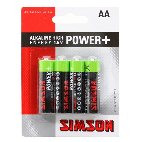 Simson Batterijen Power + AA (4 stuks)