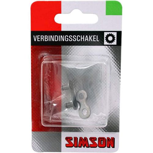 Simson kettingschakel 3/5/7/8 speed maat 1/2