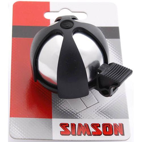 DB0604A Simson Bel SPORT chroom-zwart