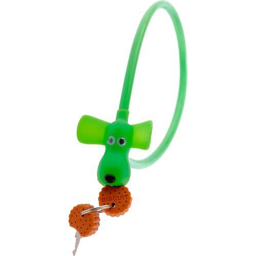 kabelslot Flappie de waakhond met 2 sleutelkoekjes
