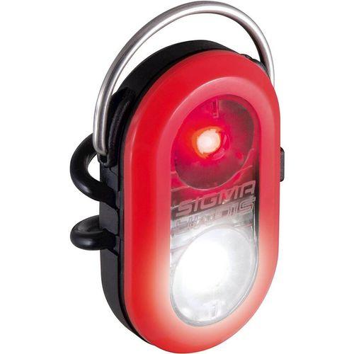Sigma verlichting Micro duo batterij rood