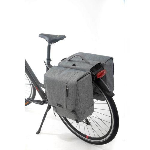 Dubbele fietstas Nova Double afneembaar - 32 liter