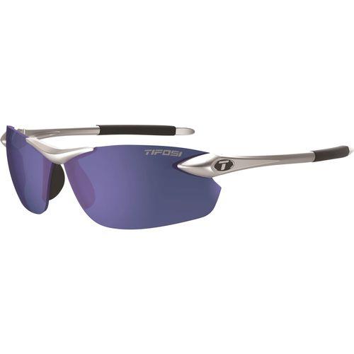 Tifosi bril Seek FC metallic zilver smoke blue