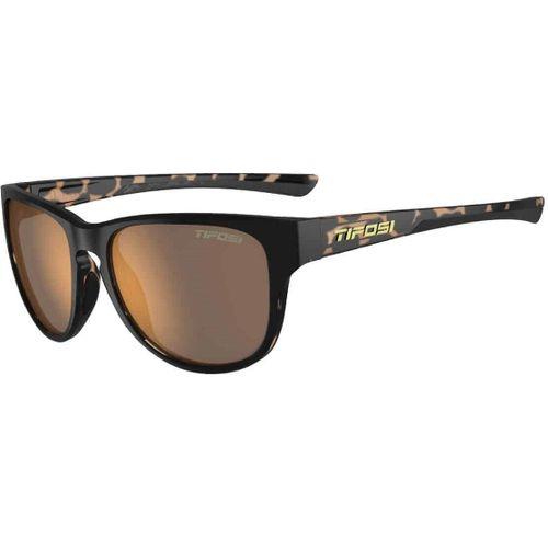 Tifosi bril Smoove satijn zwart- bruine print
