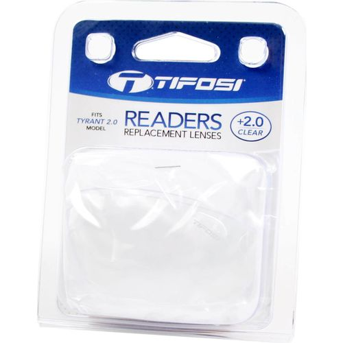 Tifosi reader lens Tyrant clear +2.0