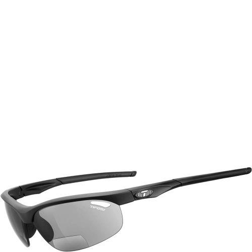 Tifosi bril Veloce mat zwart +1.5 smoke