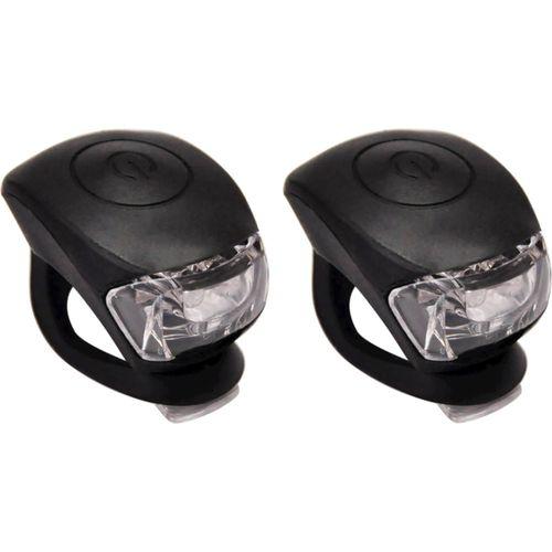 UP Siliconen LED Fietslampjes set Zwart