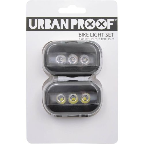 UP Clip Fietslampjes set Zwart