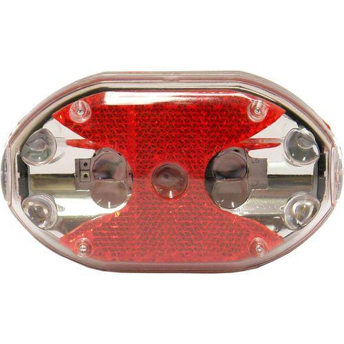 IKZI Light licht ovaal 5 led batterij zadelpen