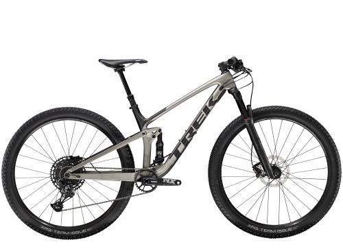 Trek Top Fuel 9.7 NX S Metallic Gunmetal/Dnister Black