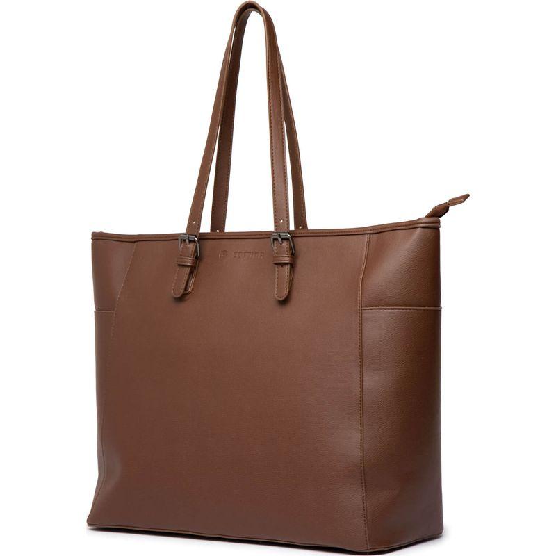 Cortina Milan Handbag PU-leather Brown