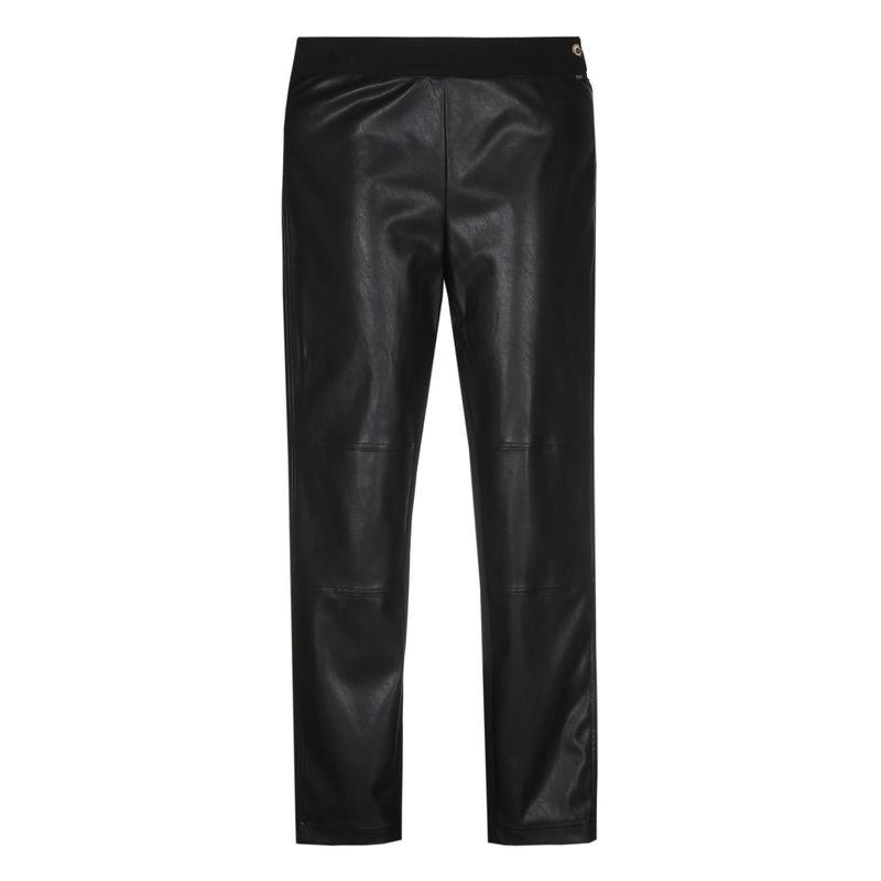 Xandres Gold Broek eco-leather zwart