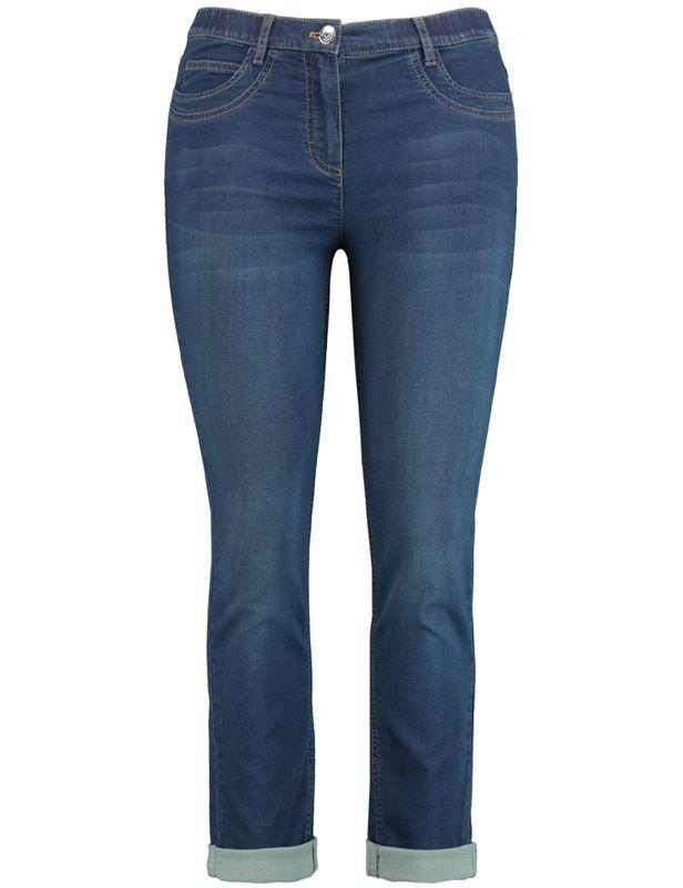 Samoon Jeans dark blue denim Betty