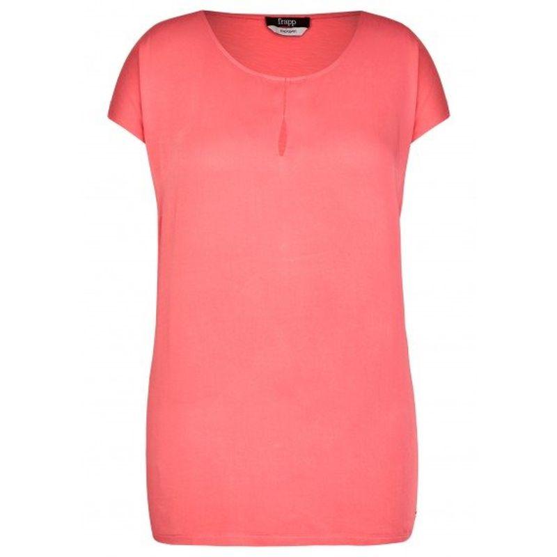 Frapp Shirt met kapmouw roze