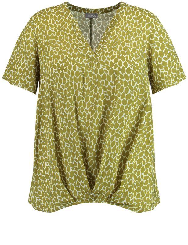 Samoon Shirt met print