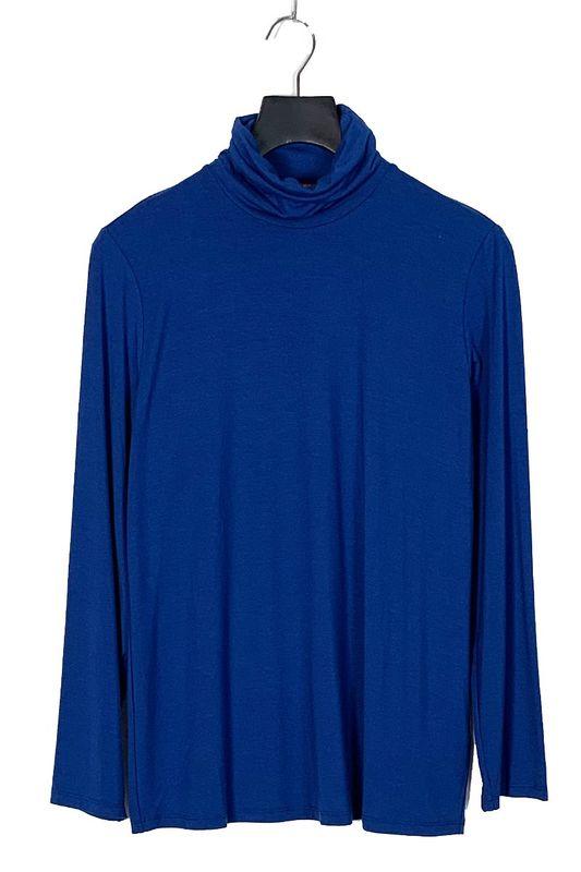 Marina Rinaldi Sport Shirt mouw en col kobalt ZAINO