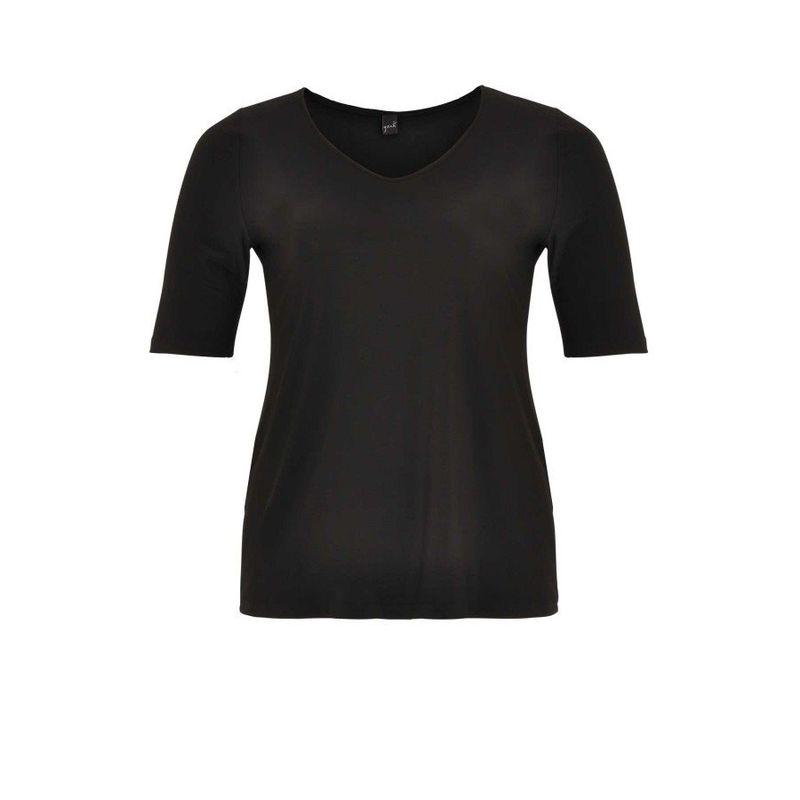Yoek Shirt relax fit DOLCE zwart