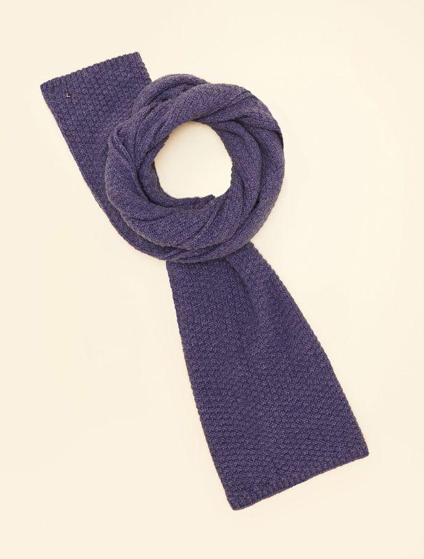 Marina Rinaldi Sport Sjaal gebreid blauw SALIENTE