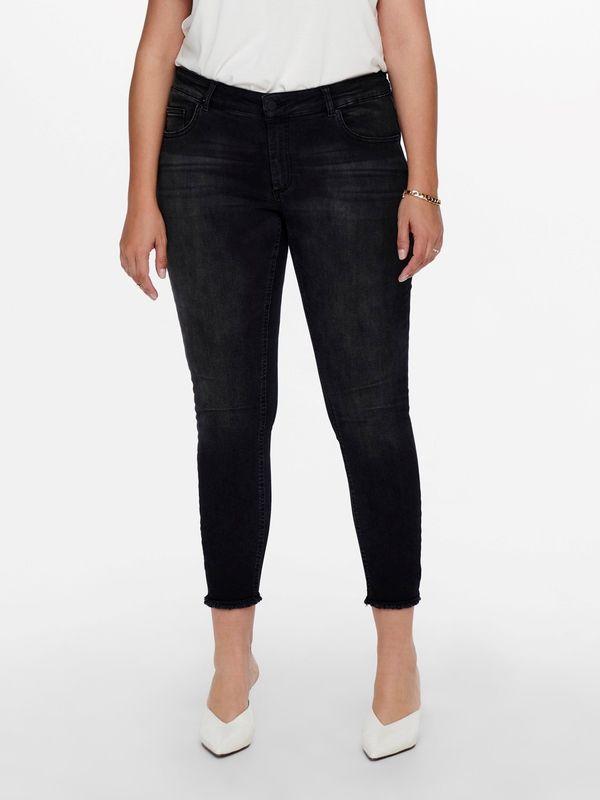 Only Carmakoma Skinny Jeans CARWILLY Black