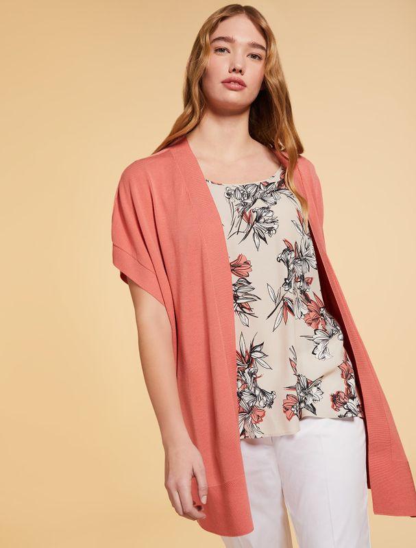 Persona Vest mouwloos roze MICENEO